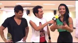 Sucesso em Foco: Cinthia Santos aprende coreografia 'Show das Poderosas' com Ivan Santos em SP