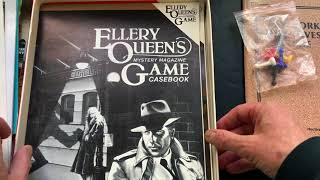 Ellery Queen's Mystery Magazine Game (unboxing)