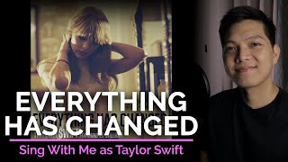 Everything Has Changed (Male Part Only - Karaoke) - Taylor Swift ft. Ed Sheeran