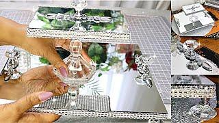DIY Room Decor DIY Room Decorating Ideas DIY Accessories 2 Tiered Crystal Mirror