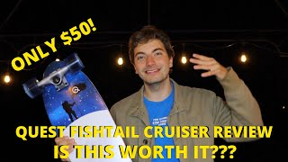 Is this $50 Quest Fishtail Cruiser from Amazon worth it? UNBOXING//REVIEW