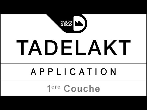 Application de la 1ère couche