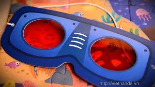 Пазлы - игра Секретный Лес с очками Mideer от компании MiDeer - видео