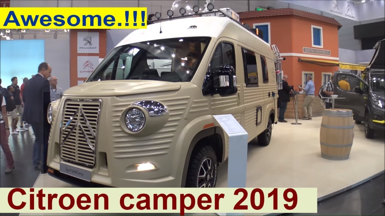 The new Citroen Camper 2019 – Totally Awesome.!!!