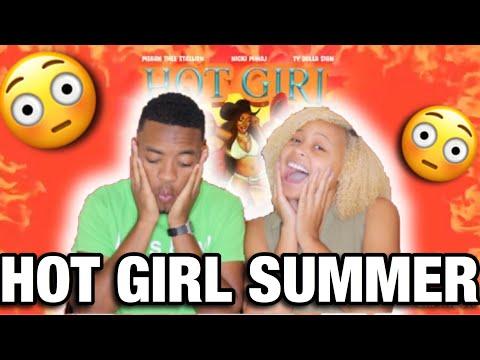 HOT GIRL SUMMER- MEGAN THEE STALLION FT. NICKI MINAJ & TY DOLLA SIGN REACTION