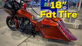 2020 Harley Road Glide Fat Tire Custom Bagger