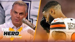 OBJ's production will not correlate to wins for Browns, Colin talks Dak contract | NFL | THE HERD