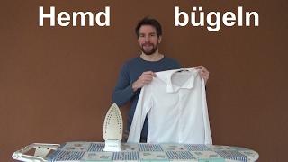 Hemd bügeln Herrenhemd richtig bügeln Businesshemd bügeln
