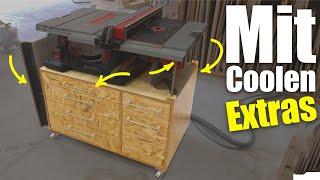 Mit diesem Untergestell wird deine Tischkreissäge zum Frästisch! #1