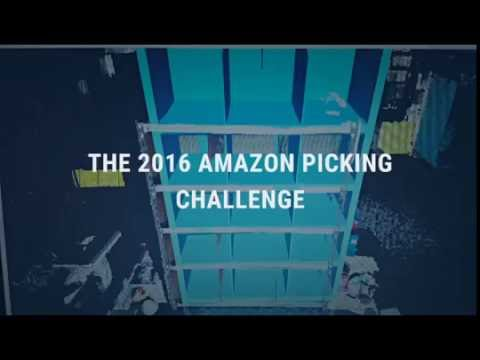 Our Amazon Picking Challenge Team in Action at RoboCup 2016