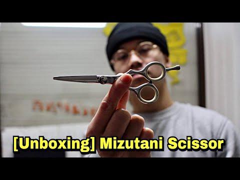 [UNBOXING] MIZUTANI SCISSOR 5 ZOLL | Friseurschere Test | 5 ZOLL | NUYÄN