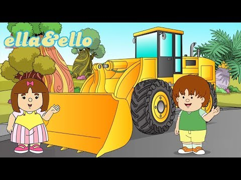 S2-E53 : Membuat Wheel Loader Bersama Ella Ello | Puri Animation