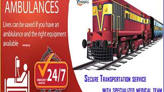 Falcon Train Ambulance in Kolkata – Get Trustable ICU Services
