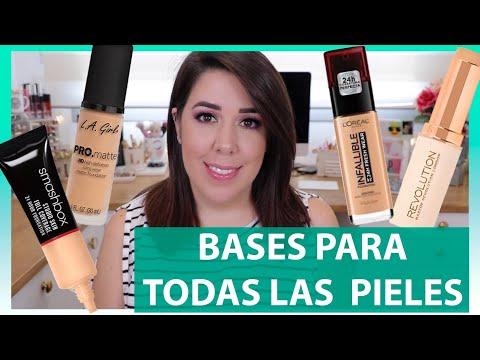 BASES MAQUILLAJE | PIELES SECAS / NORMALES / MIXTAS Y GRASAS