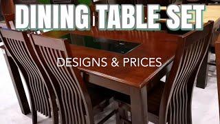 DINING SET DESIGNS AND PRICES - ALLHOME