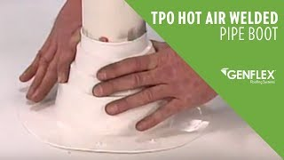 TPO Hot Air Welded Pipe Boot
