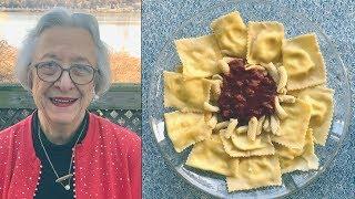 Pasta Grannies share Giovanna's Sicilian ravioli and pork ragu