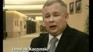 Kaczynski w wywiadzie po angielsku :D