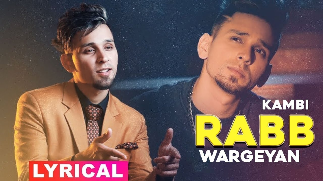 Rabb Wargeya Yaaran Nu (Lyrics) | Kambi | Latest Punjabi Song 2020 | Speed Records