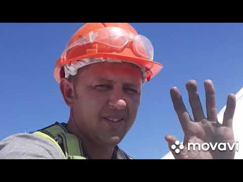 Монтаж ветрогенератора работа на высоте