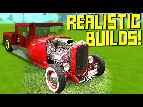 """We Searched """"Realistic"""" on the Workshop and Found 100% Perfection - Scrap Mechanic Workshop Hunters"""
