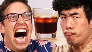 The Try Guys Try The Worlds Grossest Alcohols