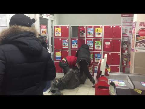 В магазине «Магнит» поймали вора