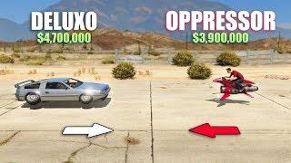 GTA V - Oppressor 2 vs Deluxo