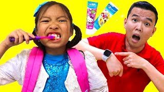 Put On Your Shoes Song  Wendy Pretend Play Morning Routine Brush Teeth Nursery Rhymes Kids Songs