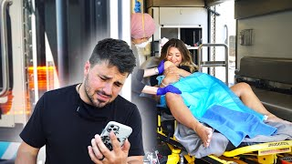 HAD THE BABY IN AN AMBULANCE! *MY HUSBAND MISSED IT*
