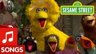 "Sesame Street: Big Bird sings ""That's Cooperation"""