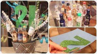 DIY 21st Birthday Present (Pinterest Inspired) | Spreadinsunshine15