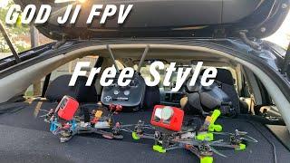 DJI FPV FREE STYLE BY GOD JI FPV