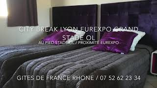 City Break Lyon Eurexpo Grand Stade
