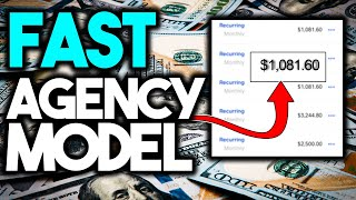 Make $1,000 Per Day Using The Fast Agency Model