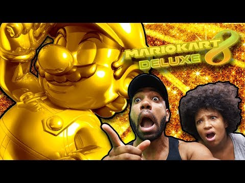 Me & my WIFE are on the HUNT For GOLDEN MARIO!! - [MARIO