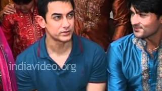 Aamir Khan's surprise visit