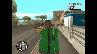 GTA San Andreas mod  - Ben 10 alien force clothes