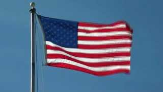 U.S. Flag American Flag - Free background video 1080p HD stock video footage