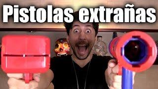 Cosas Pirrattas: Pistola lanza tequila, dinero, ketchup y bombones!!! - ChideeTv