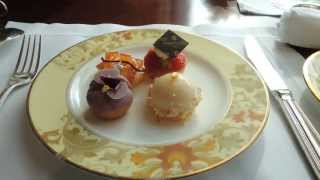 シャングリ・ラホテル東京ザ・ロビーラウンジアフタヌーンティースコーン、サンドイッチ、スィーツ
