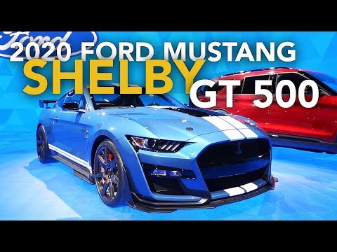 2020 Ford Mustang Shelby GT500 First Look - 2019 Detroit Auto Show