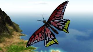 BUTTERFLY PLANE MOD | Simple Planes #2