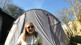 VANGO Winslow 500 5 man tent how to put up and full review