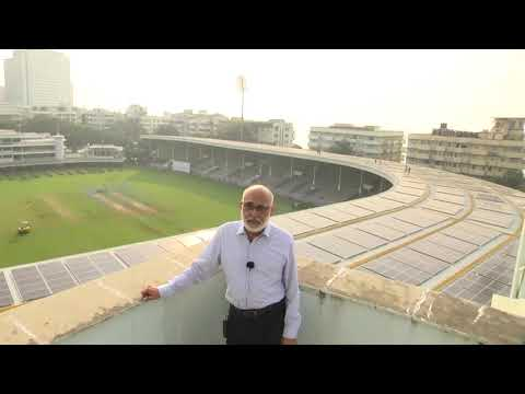 Mr. Rakesh Kapoor of CCI speaks about the World's largest solar-powered cricket stadium at the #CCI