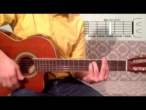 Gm Sol Minör Akoru Nasıl Basılır Gitar Dersleri