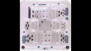 SORRENTO 5 PERSON 2+3 (200*200*80) от компании Comfort SPA - бассейны и СПА бассейны, комплектация зон отдыха - видео 2