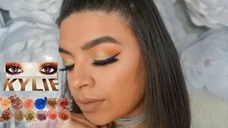 Kylie Royal Peach Palette Tutorial + Review