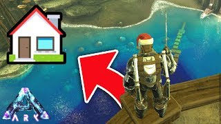 Moving into the NEW BASE! (ARK ABERRATION EPISODE 17) *Live*