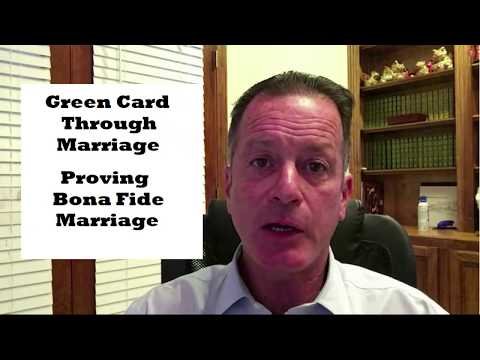 video thumbnail Immigration Through Marriage  Proof of Bona Fides